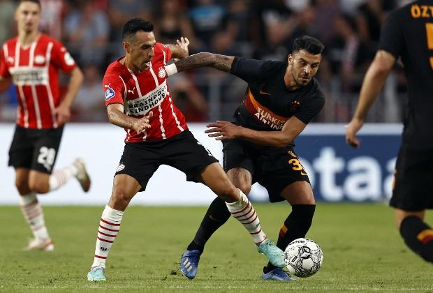 PSV goleó 5-1 a Galatasaray. / Foto: AFP