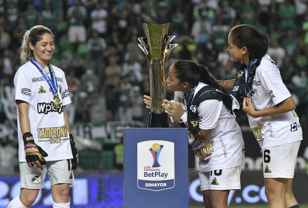 Cali, campeón de la Liga Femenina 2021. / Foto: VizzorImage - Gabriel Aponte