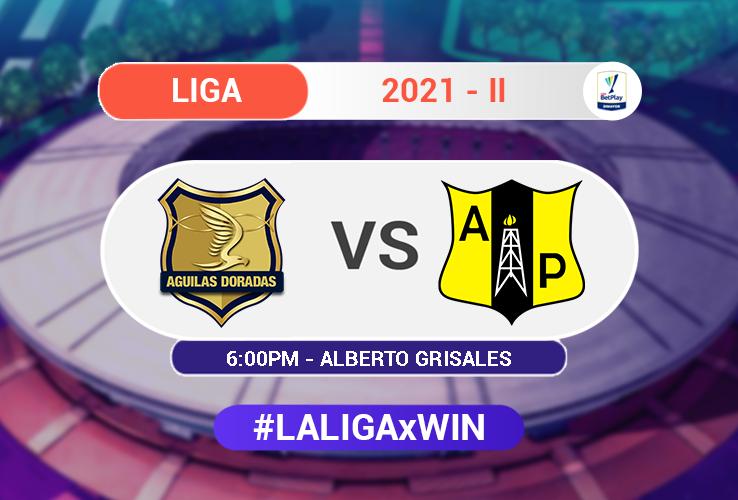 Águilas Doradas vs. Alianza Petrolera / Liga BetPlay