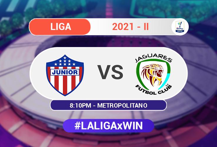 Junior vs Jaguares - Liga BetPlay