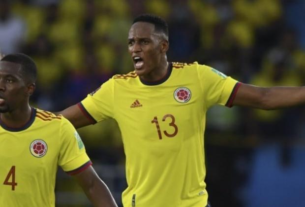 Yerry Mina, defensor de la Selección Colombia/ AFP