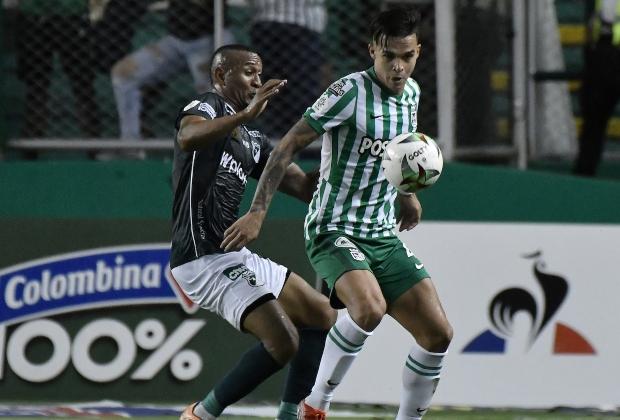 Cali empató 2-2 frente a Nacional en la semifinal ida. / Foto: VizzorImage - Gabriel Aponte