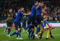 Italia celebra el título de Eurocopa / Foto AFP