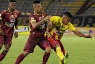 Tolima y Pereira empataron sin goles en la semifinal ida.