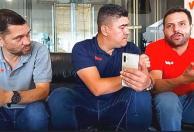 JJ Miranda, Eduardo Luis y Carlos Aleman analizan el partido de la Eliminatoria.